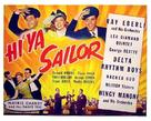 Hi'ya, Sailor - Movie Poster (xs thumbnail)