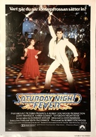 Saturday Night Fever - Swedish Movie Poster (xs thumbnail)