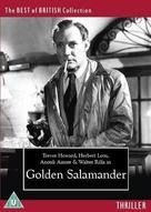Golden Salamander - British DVD cover (xs thumbnail)