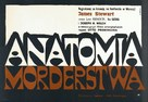 Anatomy of a Murder - Polish Movie Poster (xs thumbnail)