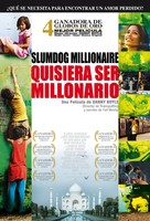 Slumdog Millionaire - Mexican Movie Poster (xs thumbnail)