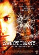 Sanctimony - German Movie Cover (xs thumbnail)
