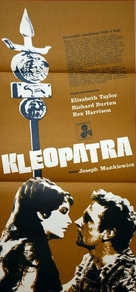 Cleopatra - Yugoslav Movie Poster (xs thumbnail)