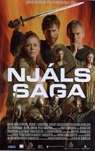 Njálssaga - Icelandic poster (xs thumbnail)