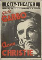 Anna Christie - Dutch Movie Poster (xs thumbnail)