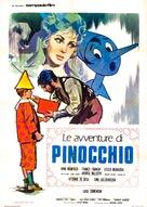 """Le avventure di Pinocchio"" - Italian Movie Poster (xs thumbnail)"