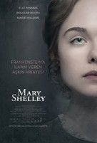 Mary Shelley - Turkish Movie Poster (xs thumbnail)