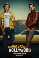 Once Upon a Time in Hollywood - Portuguese Movie Poster (xs thumbnail)