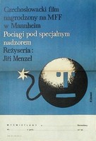 Ostre sledované vlaky - Polish Movie Poster (xs thumbnail)