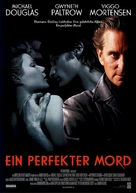 A Perfect Murder - German Movie Poster (xs thumbnail)