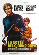 The Night of the Following Day - Italian Movie Poster (xs thumbnail)