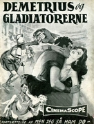 Demetrius and the Gladiators - Danish Movie Poster (xs thumbnail)