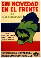 All Quiet on the Western Front - Spanish Movie Poster (xs thumbnail)