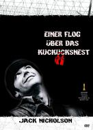 One Flew Over the Cuckoo's Nest - German DVD movie cover (xs thumbnail)