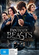 Fantastic Beasts and Where to Find Them - Australian DVD movie cover (xs thumbnail)