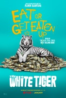 The White Tiger - Movie Poster (xs thumbnail)