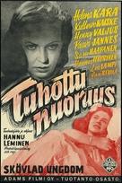 Tuhottu nuoruus - Finnish Movie Poster (xs thumbnail)