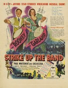 Strike Up the Band - Theatrical poster (xs thumbnail)