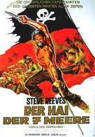Morgan il pirata - German Movie Poster (xs thumbnail)