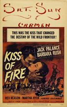 Kiss of Fire - Movie Poster (xs thumbnail)