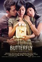 The Butterfly - Indonesian Movie Poster (xs thumbnail)