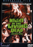 Night of the Living Dead - German DVD movie cover (xs thumbnail)