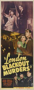London Blackout Murders - Movie Poster (xs thumbnail)
