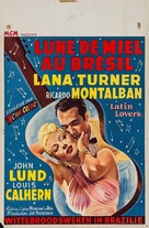 Latin Lovers - Belgian Movie Poster (xs thumbnail)