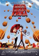 Cloudy with a Chance of Meatballs - Lithuanian Movie Poster (xs thumbnail)