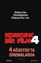 Scary Movie 4 - Turkish Movie Poster (xs thumbnail)