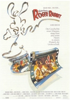 Who Framed Roger Rabbit - German Movie Poster (xs thumbnail)