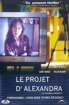 Alexandra's Project - Canadian DVD cover (xs thumbnail)