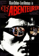 Les aventuriers - German Movie Poster (xs thumbnail)
