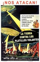 Earth vs. the Flying Saucers - Argentinian Movie Poster (xs thumbnail)