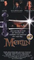 Merlin - Swedish VHS cover (xs thumbnail)