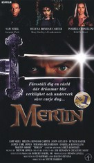Merlin - Swedish VHS movie cover (xs thumbnail)