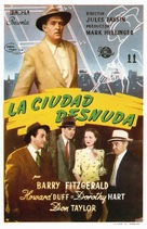 The Naked City - Spanish Movie Poster (xs thumbnail)