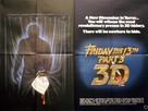 Friday the 13th Part III - British Movie Poster (xs thumbnail)