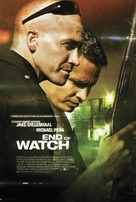 End of Watch - Danish Movie Poster (xs thumbnail)