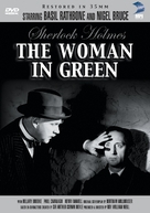 The Woman in Green - DVD cover (xs thumbnail)