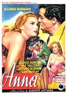 Anna - Belgian Movie Poster (xs thumbnail)