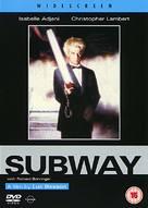 Subway - British DVD cover (xs thumbnail)