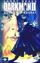 Darkman II: The Return of Durant - Czech Movie Cover (xs thumbnail)