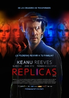 Replicas - Colombian Movie Poster (xs thumbnail)