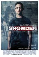Snowden - Romanian Movie Poster (xs thumbnail)