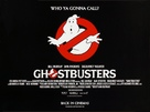 Ghostbusters - British Movie Poster (xs thumbnail)