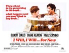 I Will, I Will... for Now - Movie Poster (xs thumbnail)