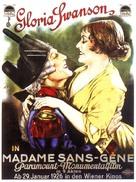 Madame Sans-Gêne - Austrian Movie Poster (xs thumbnail)