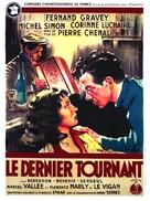 Le dernier tournant - French Movie Poster (xs thumbnail)