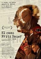 Der Staat gegen Fritz Bauer - Spanish Movie Poster (xs thumbnail)